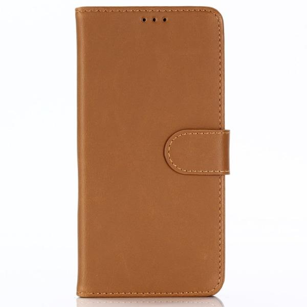 Samsung Galaxy A9 (2018) Stilrent plånboksfodral - Brun Brun