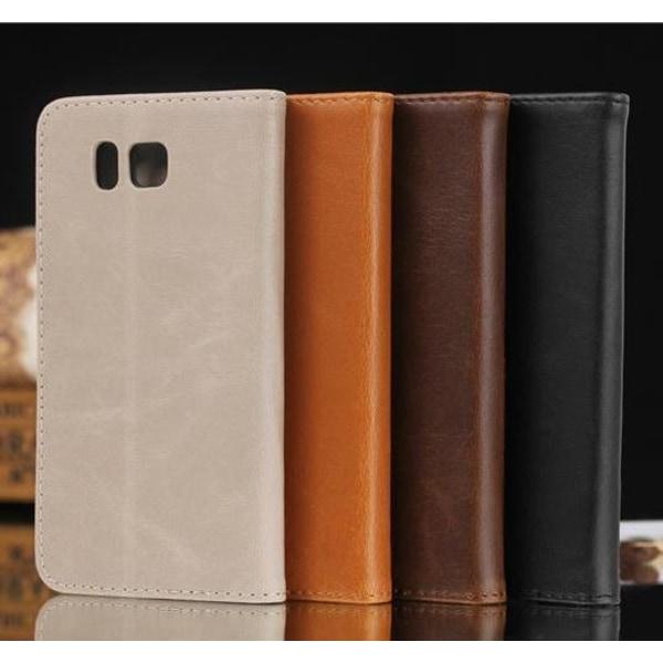 Samsung Galaxy Alpha Plånboksfodral / Fodral Brun