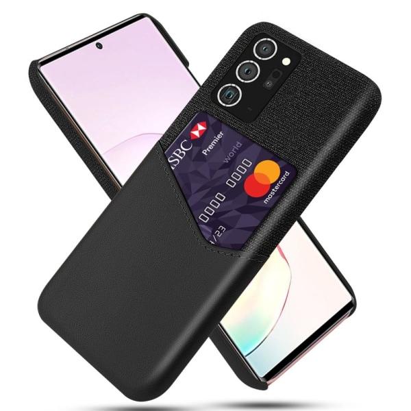 Samsung Galaxy Note 20/Note20 5G Skal med kortplats - Svart Svart