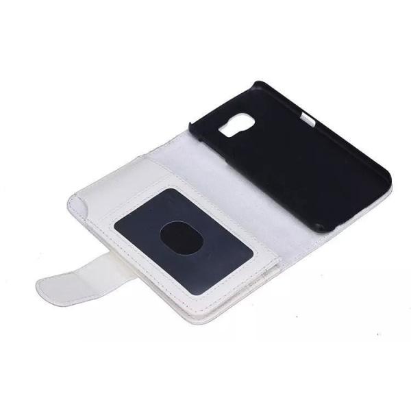 Samsung Galaxy Note 5 Edge Plånboksfodral med 6 kortplatser Svart