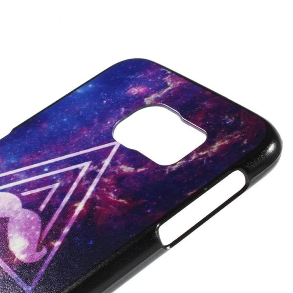 Samsung Galaxy S6 Hard Case skal Galaxy Triangle Lila
