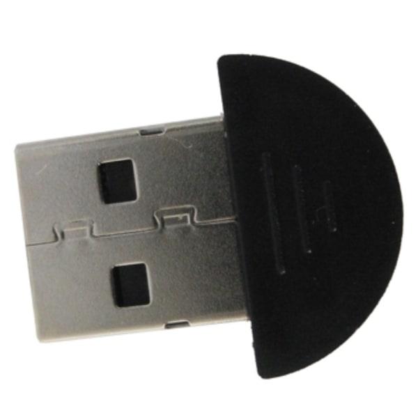 Super Mini USB Bluetooth 2.0 Adapter Dongle  Svart