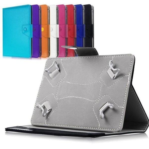 "Universal fodral till 8-9"" Surfplattor Tab 3 / Tab 4 8"" iPad Min Mörkrosa"