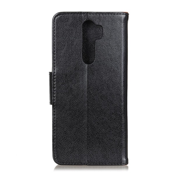 Xiaomi Redmi 9 Plånboksfodral Textured Split Svart