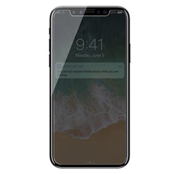 Apple iPhone Xs / X Privacy Skärmskydd i Härdat Glas STARK SKYDD