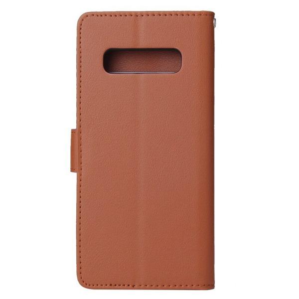 Plånboksfodral Samsung Galaxy S10 |SLITSTARK & Tålig ALLA FÄRGER blå