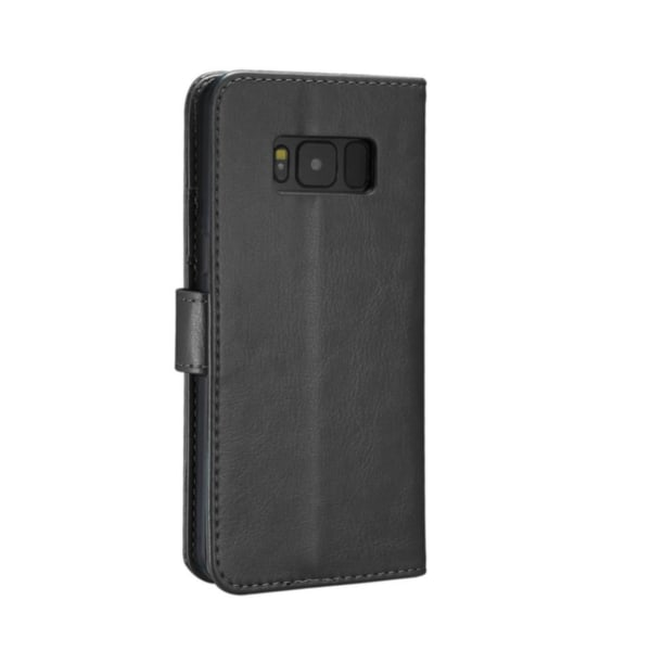 Plånboksfodral Samsung Galaxy S8+ PLUS | SLITTÅLIG -ALLA FÄRGER  svart