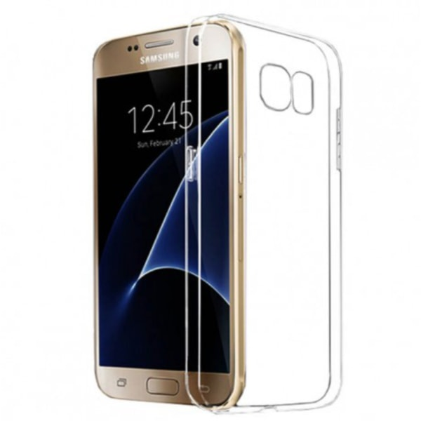 Samsung Galaxy S7 Silikon skal Transparent - Skyddar perfekt 3mm