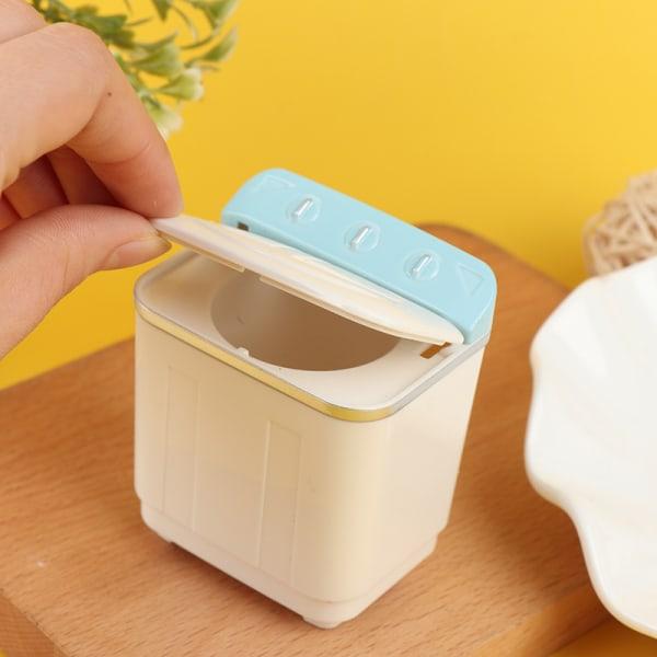 1:12 dockhus miniatyr tvättmaskin docka hemapplikation