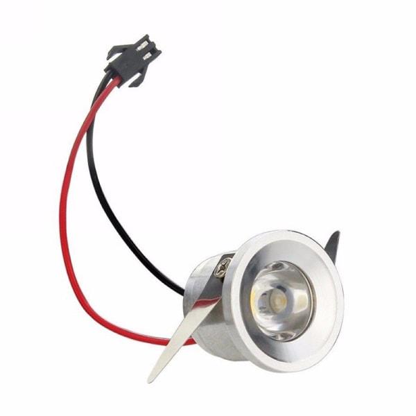 1 / 3W infälld Mini Spotlight-lampa Takmonterad LED Downlight