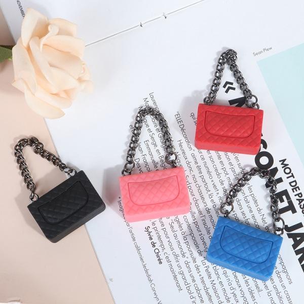 1 Pc Chain Pack Doll Bag Miniature Shopping Handbag Model for D Yellow