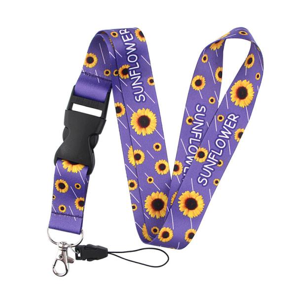 1 st solros badge id snodd mobiltelefon rep nyckel snodd nec Purple