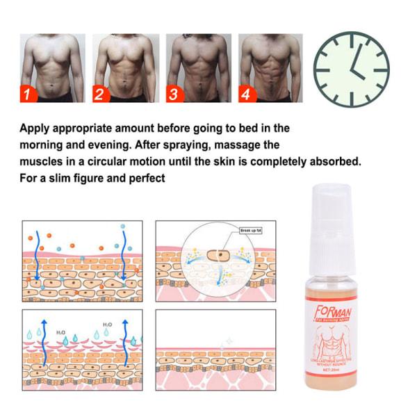 10 ml kraftfull magmuskelspray anti celluliter fitness smal