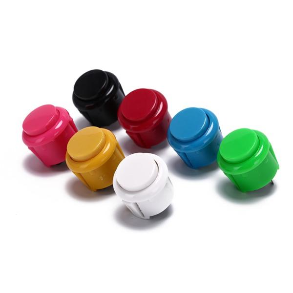 10st 24Mm tryckknappar ersätter för arkadknappsspel delar o