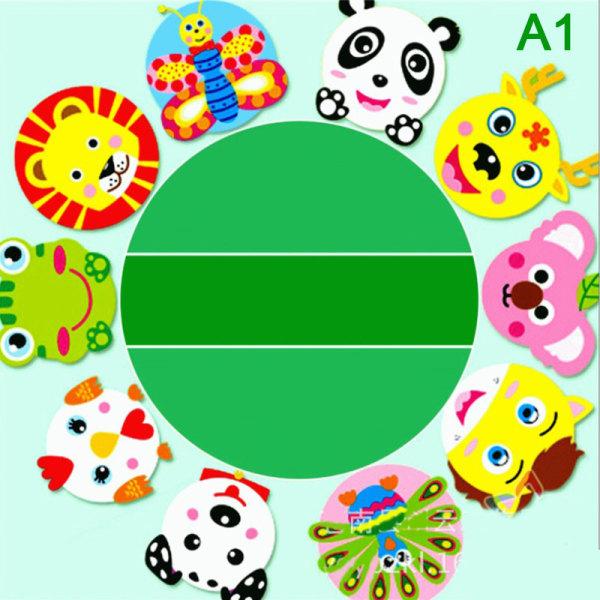 10st / uppsättning Barnpappersfack Handgjorda pappersfackmålningar