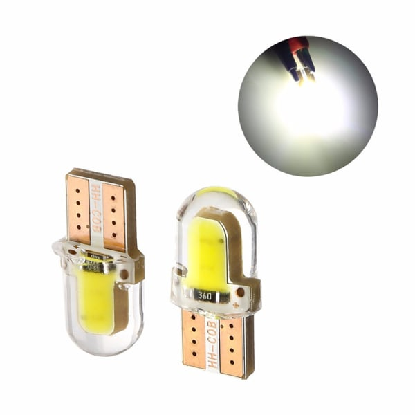 10X LED T10 194168 W5W 8SMD CANBUS Silica Bright White License