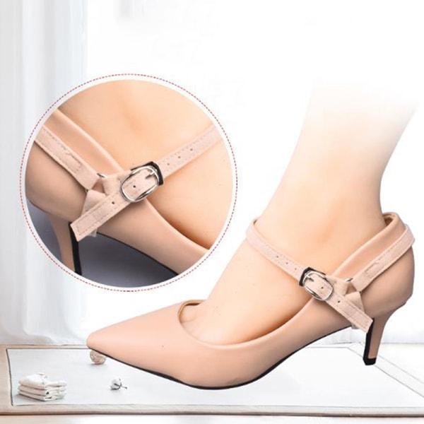 1 par skosnören för högklackade skor Anti-halk Lady Lock-remmar