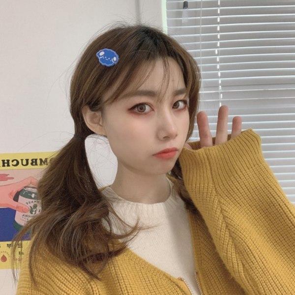 1pc Candy Color Girl Cute Mini Cartoon Hair Clips Duckbill Hair A5