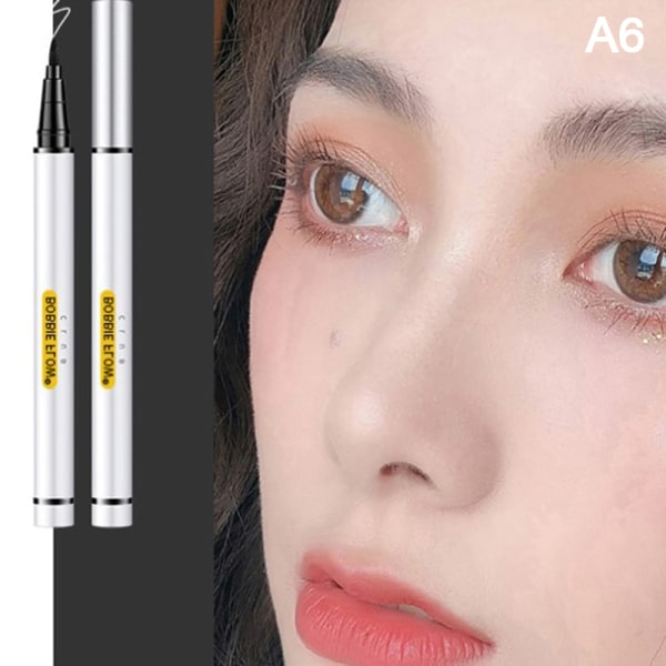1pc Eyeliner Waterproof and Sweatproof Quick-Drying No Dizzy Ma 6#