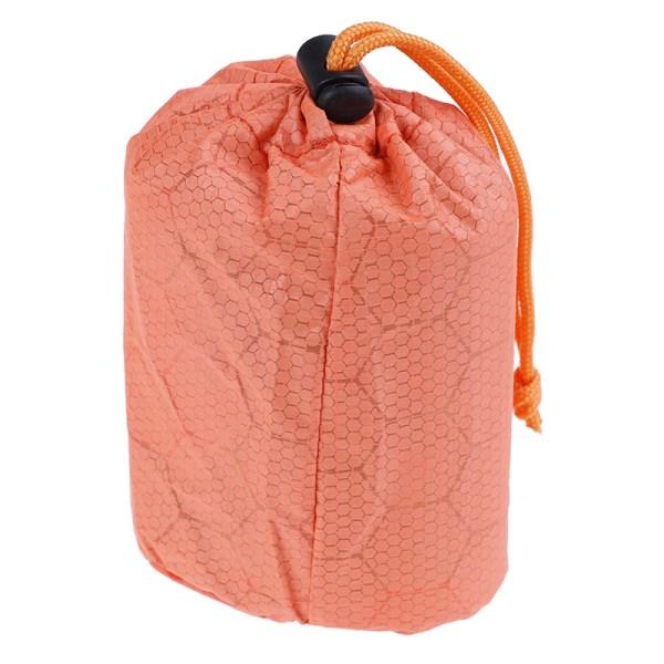 1pc Storage Bag Emergency First Aid Sleeping Bag PE Film Tent