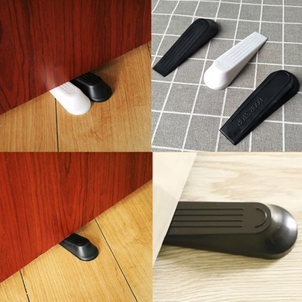 2st dörr kilformad plastdörr stoppar halksäker svart dörr bu