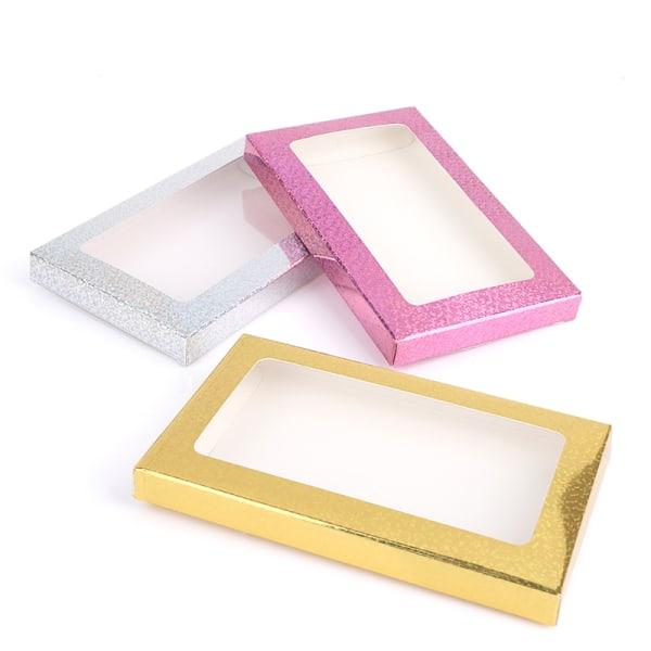 2st ögonfransförpackningslåda falska ögonfranslådor tomt pappersfall