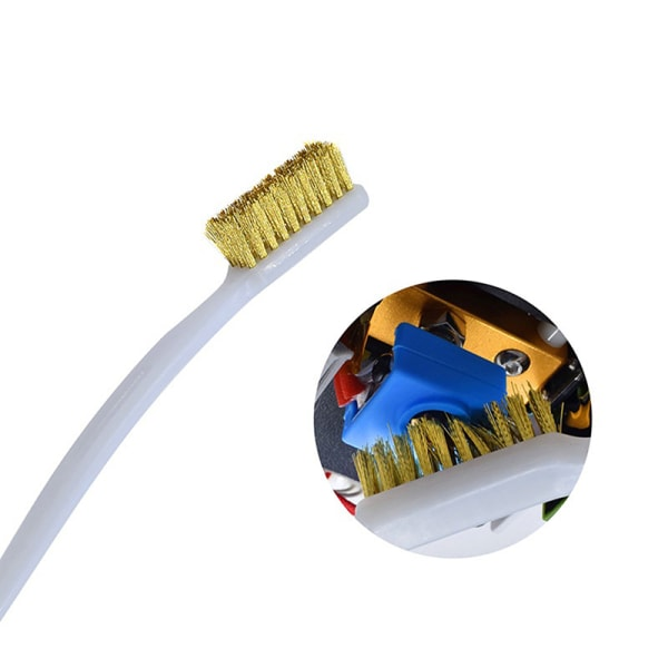 3D-skrivarrenare Koppartråd Tandborste Kopparborsthandtag Cl
