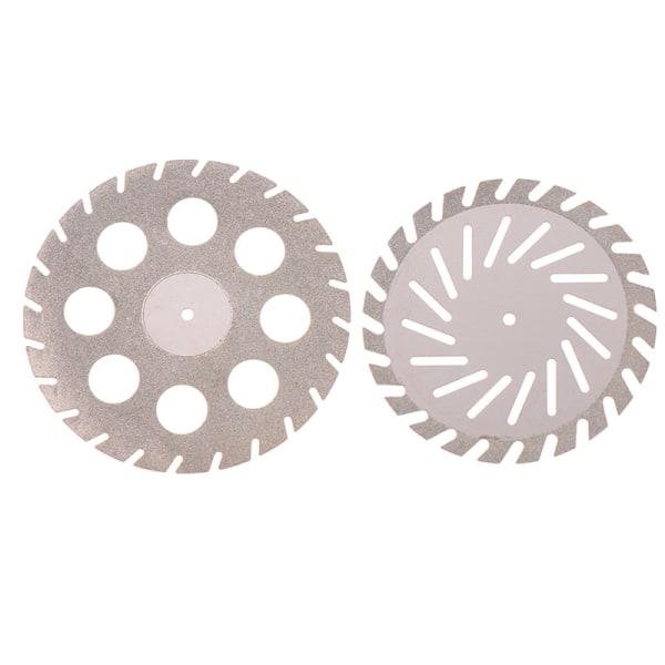 40 / 45mm dental lab polering diamant dubbelsidig skärplatta 4
