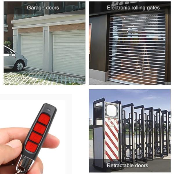 433mhz fjärrkontroll 4 channe garage gate dörröppnare fjärr co