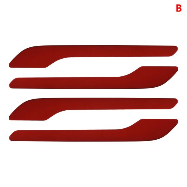 4st bildörrhandtag Wrap Cover för modell3 / Y kolfiber ABS Pr