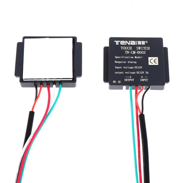 5-12v badrumsspegelbrytare touch-switch sensor för led-ljus