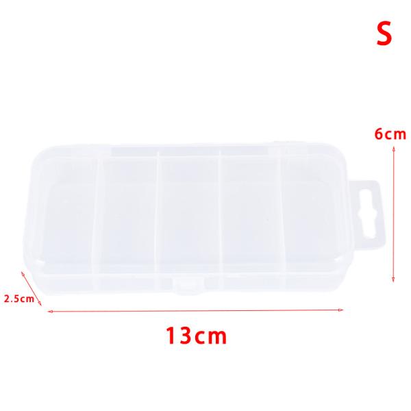 5 rutnät transparent fiskelåda dragkrokar anslutningsfodral co Transparent S