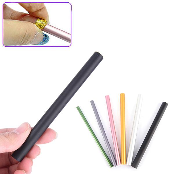 6st franska akryl nagelkonst tips forma C kurvstångpinnar Ma