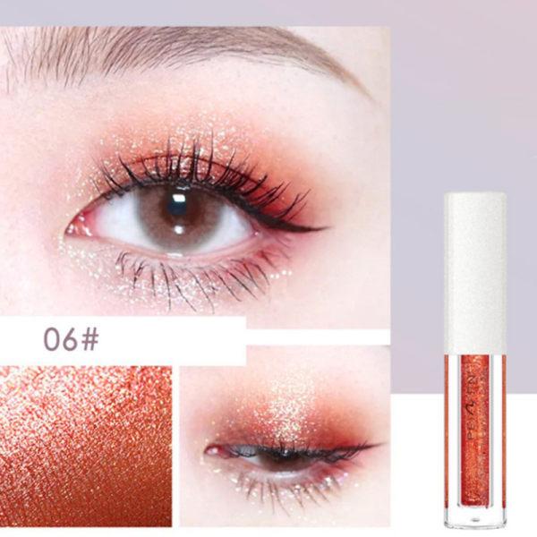 8 Colors Diamond Eye Shadow Nude Metal Shimmer Glow Glitter Sin Style 6