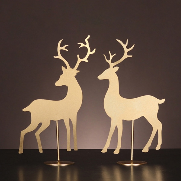 djur järn konst dekor hem vardagsrum prydnad decorn vin cabi