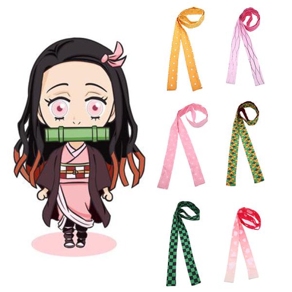 Anime Demon Slayer Kimetsu No Yaiba Headband Hair Band Cosplay C