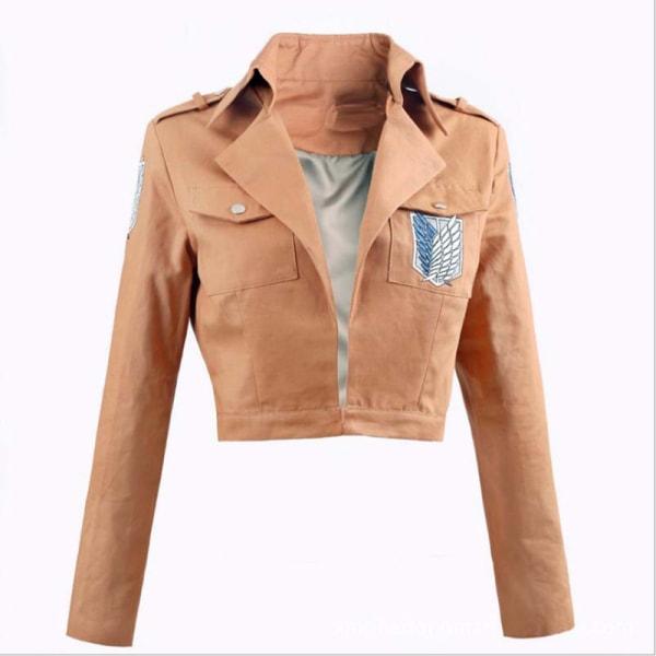 Attack on Titan Jacket Shingeki no Kyojin jacket Legion Cosplay 4(XL)