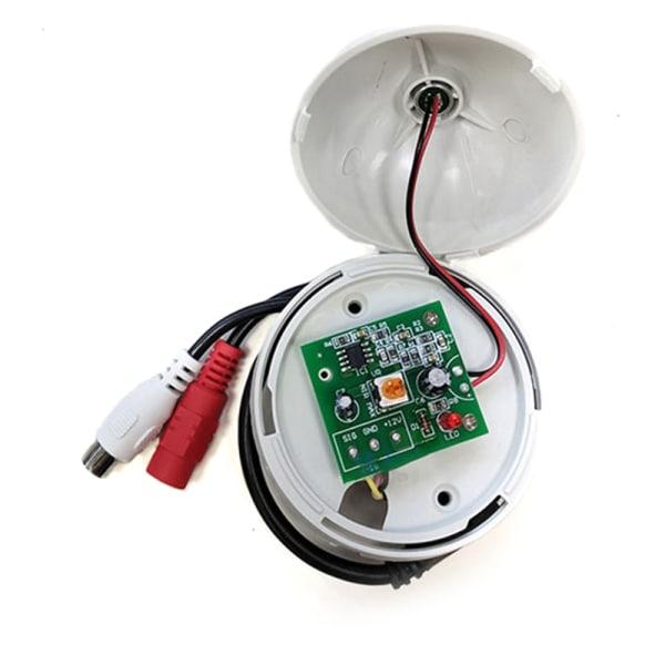 Audio Monitoring MIC Sound Pickup Microphone for CCTV Surveilla