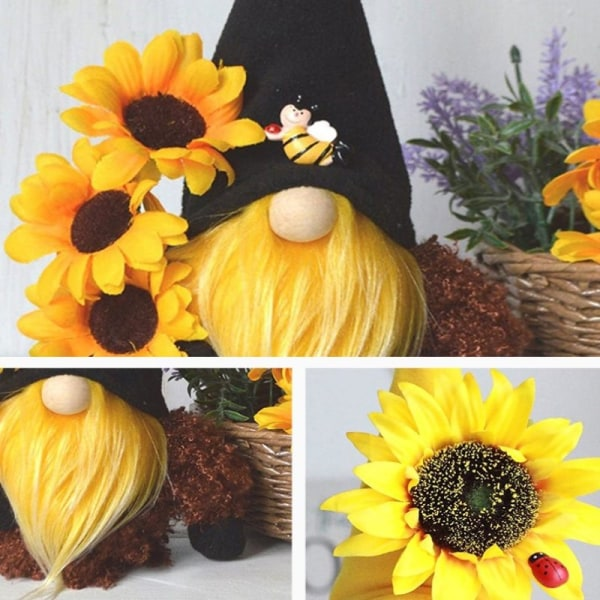 Bee Festival Faceless Doll Gnome Doll Dwarf Plysch Holiday Presenter
