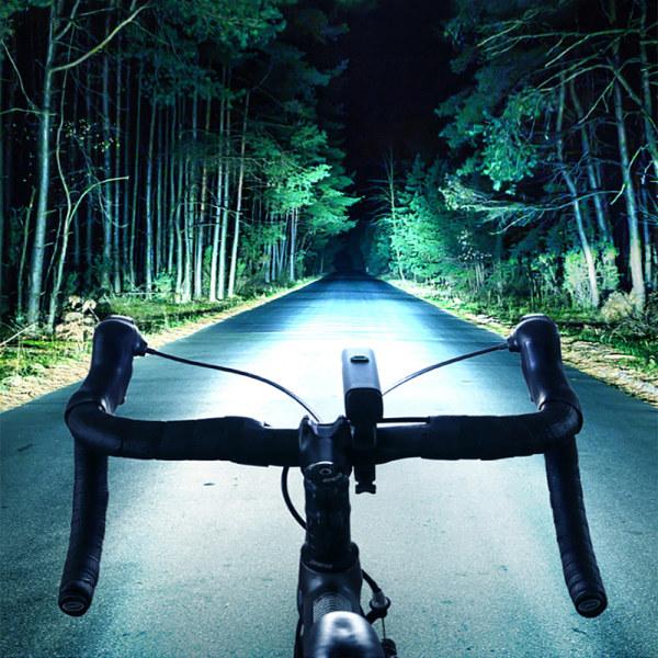 Cykel strålkastare vägcykel mountainbike starkt ljus flashligh