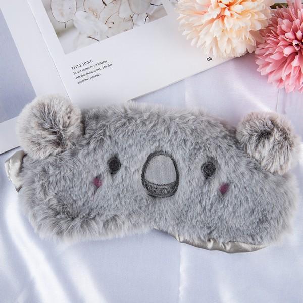 tecknad ögonmask sovande ögonmask ögonskugga kattunge resa koppla av g