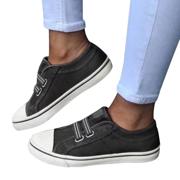 Fritidsskor Dam Sneakers Kvinnor 2021 Snörning i sport