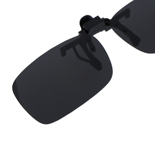 Clip-on Polarized Day Night Vision Flip-up Lens Driving Glasses