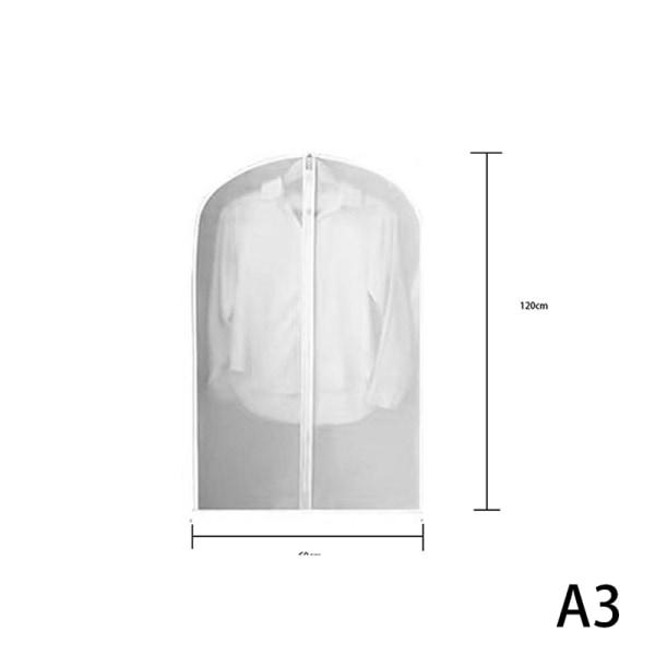 Klädöverdrag Klar kostymväska Moth Proof Garment Bag Andas