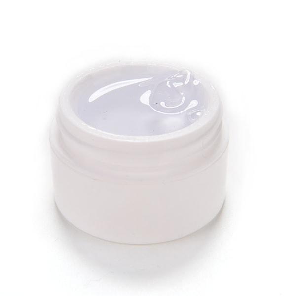 Detaljer om Clear Pink Nail Art UV Builder Gel Tips Lim Set