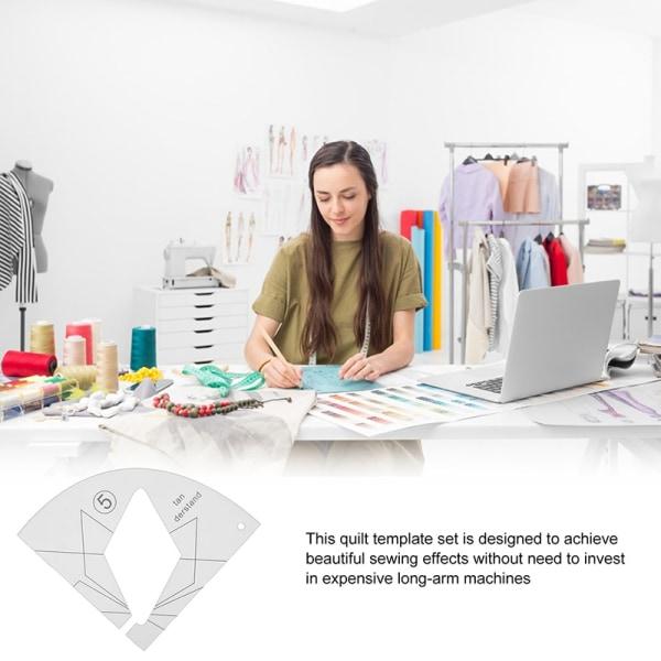 DIY akryl quiltning linjaler för hushålls symaskin quiltning
