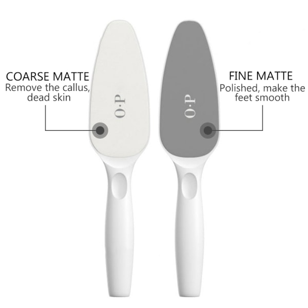 Double-sided Stone Foot Rasp Heel File Dead Skin Callus with 4  26 * 7 * 3 cm