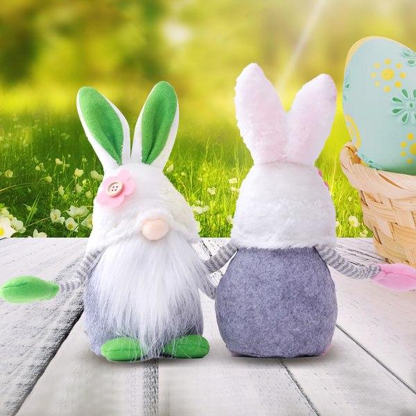 Easter Elf Bunny Ornament Easter Gnomes Gonk Ornament Faceless
