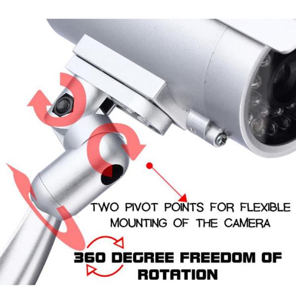 Fake Dummy Camera Vattentät utomhus inomhus säkerhet CCTV Survei