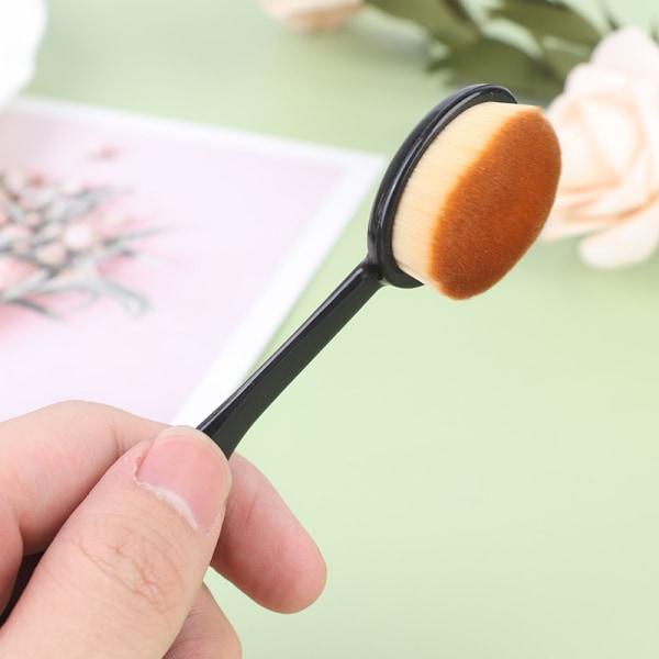 Foundation Powder Brush Tandborste Concealer Makeup BBCream Cos